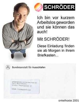 Danke Schröder!