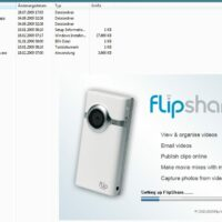 Software auf der Flip Mino (Windows und Mac)