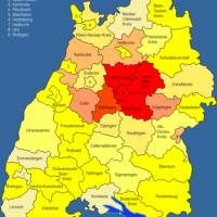 Landkreise Baden-Württemberg