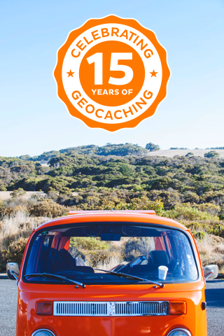 15 years of Geocaching