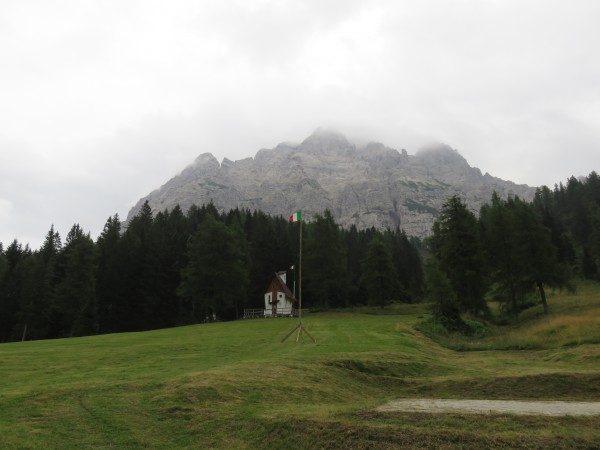 Kapelle am Passo Duran