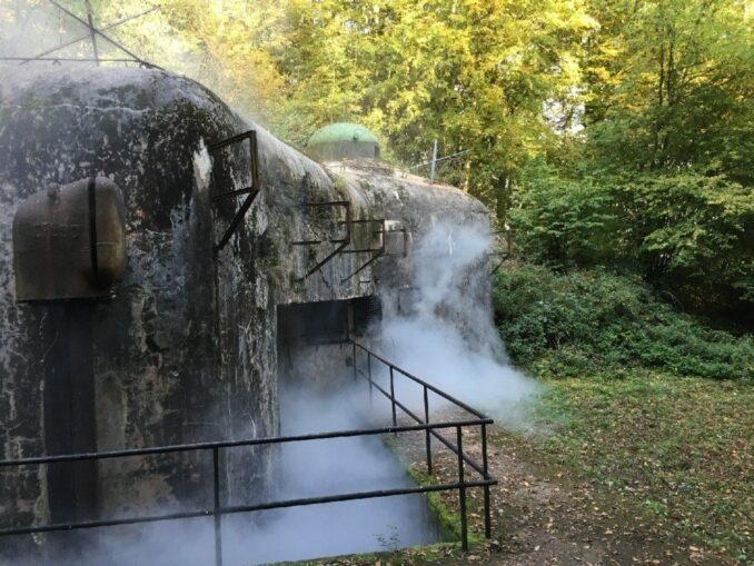 Abgas der Motoren (Block 2 Ouvrage de Bousse/Fort aux fresques)
