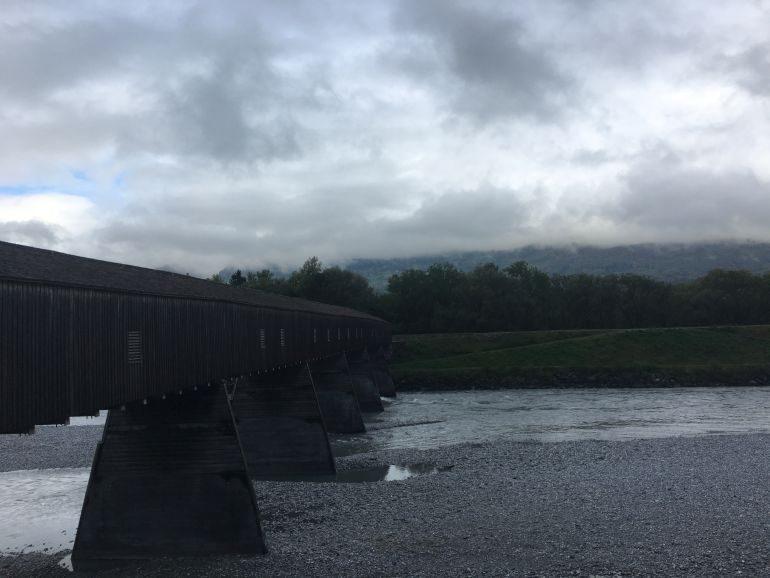 Liechtenstein: Alte Rheinbrücke