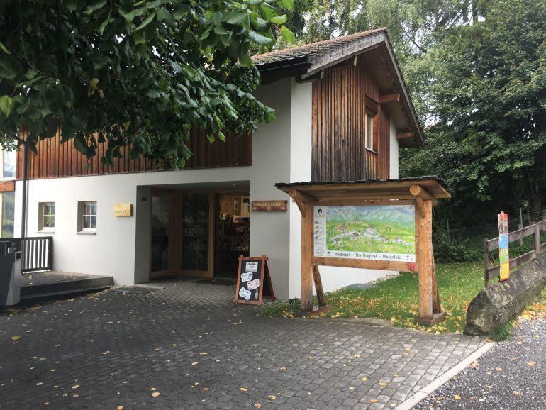 Schweiz: Heididorf Postamt