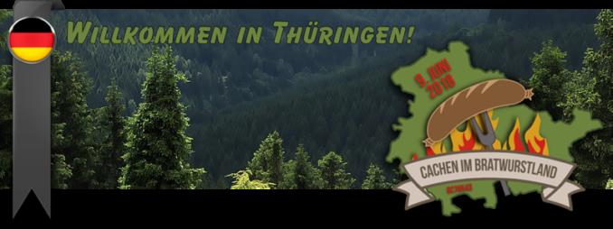 Willkommen in Thüringen - Cachen im Bratwurstland