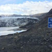Sólheimajökull Gletscher