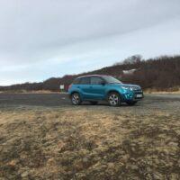 Unser Gefährt am Parkplatz der Brúarhlöð-Schlucht