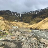 Weg zur Seljavallalaug