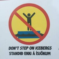 Don't step on icebergs