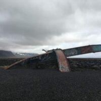 Reste der Skeiðarárbrú