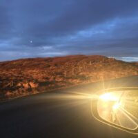 Sonne auf Snæfellsnes