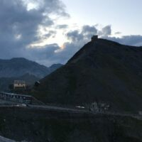Blick von der Tibethütte zur Dreisprachenspitze