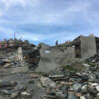 Reste des Hotels Dreisprachenspitze