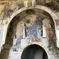 Dawit Garedscha: Reste von Fresken