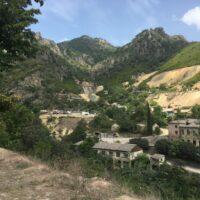 Kloster Akhtala: Blick Richtung Norden