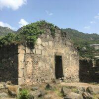 Kloster Akhtala: Ruinen
