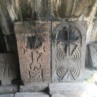 Kloster Haghpat: Steinplatten