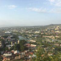 Tiflis: Blick aus der Seilbahn