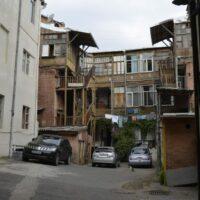 Tiflis: Hinterhof
