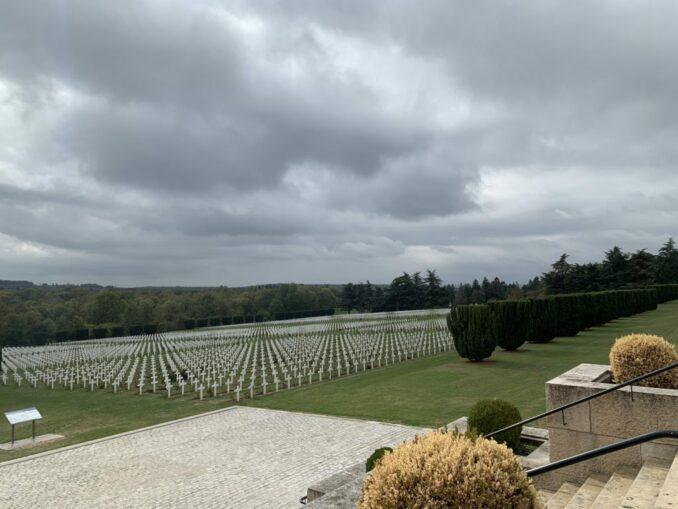 Beinhaus von Douaumont: Kreuze...