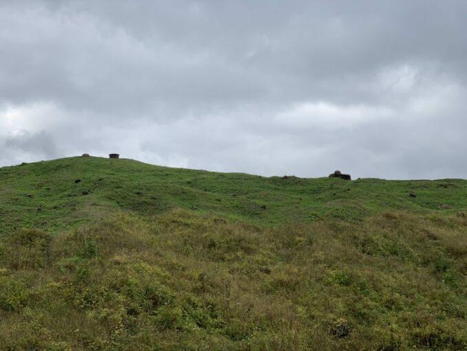 Fort Douaumont: Oberbau mit Panzerglocken