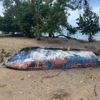 Guadeloupe - Boot am Pointe Allègre