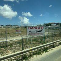 Maho Beach Warnung