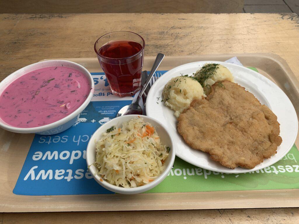 """Warschau: Mittagessen in der """"Gdański"""" Bar Mleczny"""